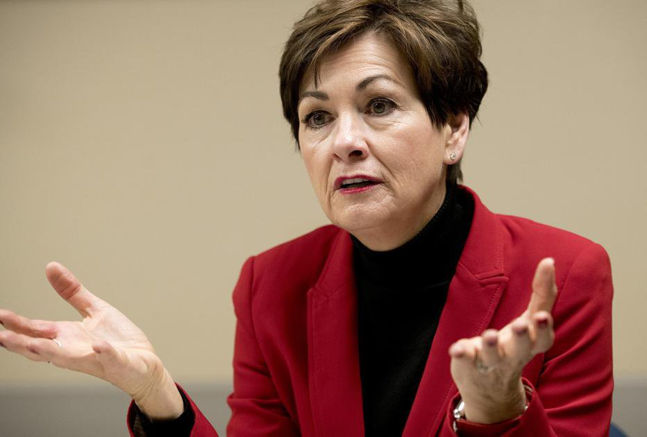Iowa Gov. Kim Reynolds cites personal alcohol struggles in medical marijuana veto