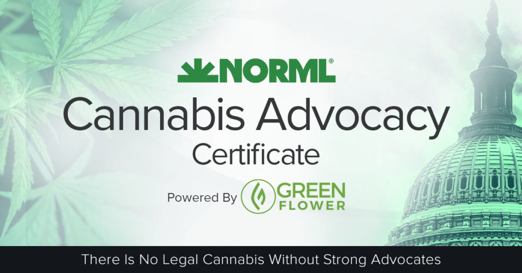 Earn Your Cannabis Advocacy Certificate