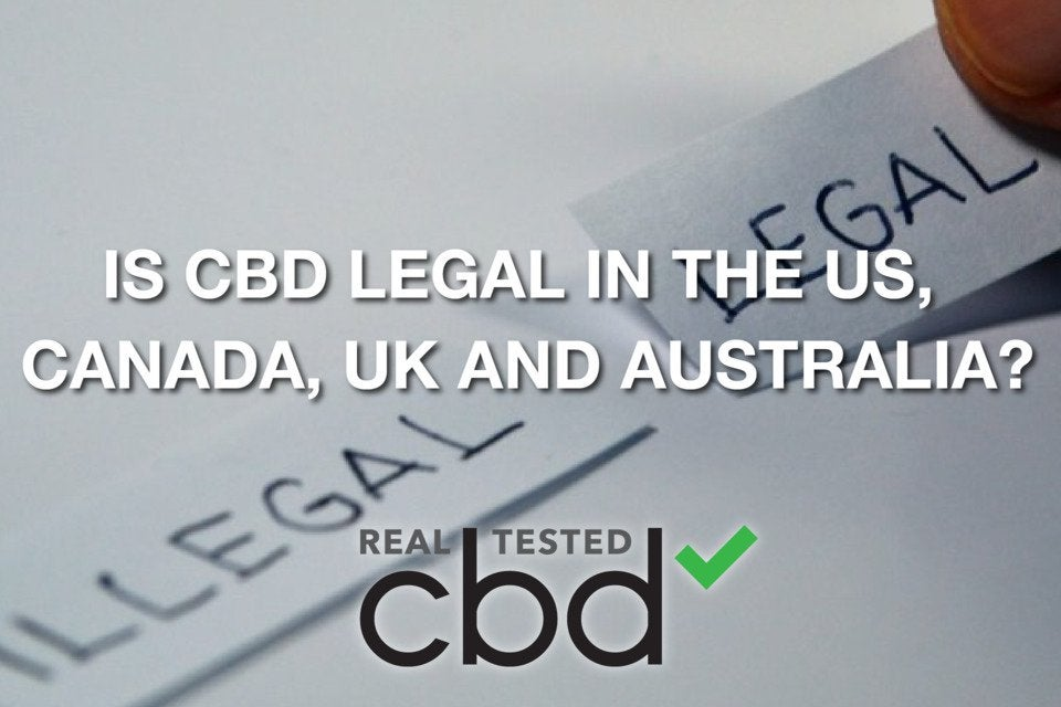 Is CBD Legal in the US, UK, Canada, EU and Australia?
